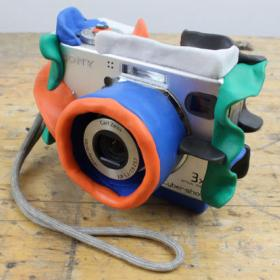 awesome bouncy kids camera made with sugru