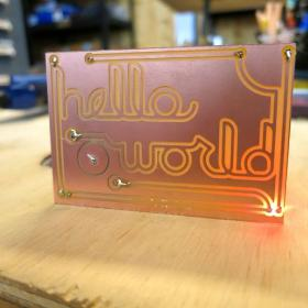 Hello World: Building a Simple Circuit with the Othermill