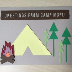 Camp Greeting Card